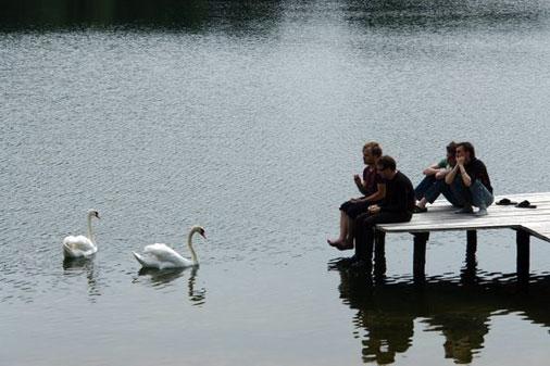 Laisvalaikis prie ežero